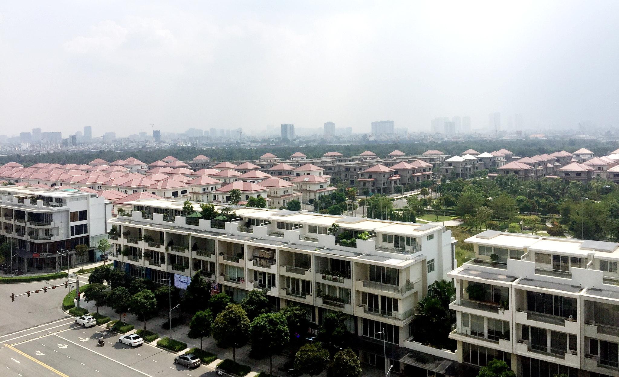 Và về khu biệt thự Sala, sông Sài Gòn
