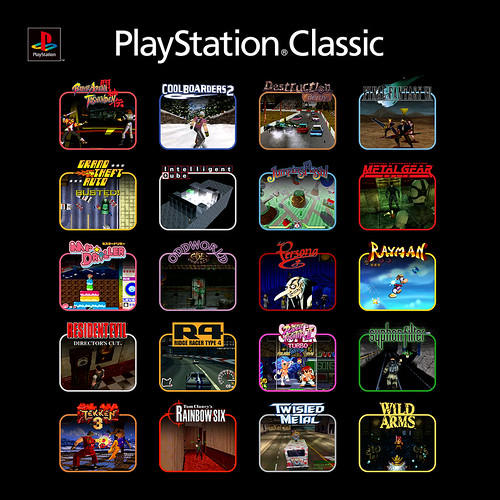 PS Classic lineup IG | by PlayStation.Blog