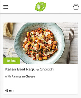 HelloFresh upcoming menu | by michtsang