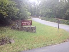 Sloppy Floyd Park Sign