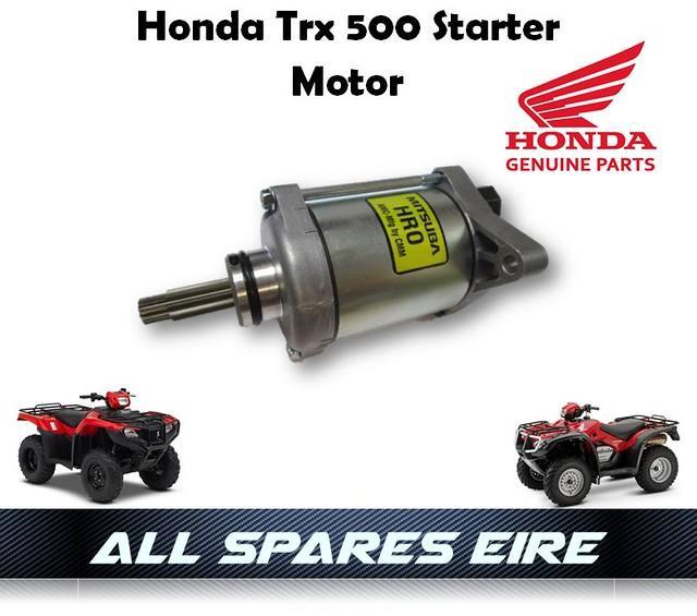 Starter for Honda TRX500 Fpe TRX500FPM Foreman 500 4X4 Es Eps 2012 2013