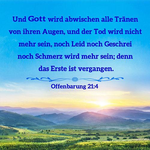 Offenbarung-214 | Und Gott wird abwischen alle Tränen von