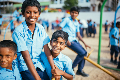 India campus prepares for new security wall around expanded playground, athletic space; story of orphan girl's path to new hope out of grave circumstances | by Peace Gospel