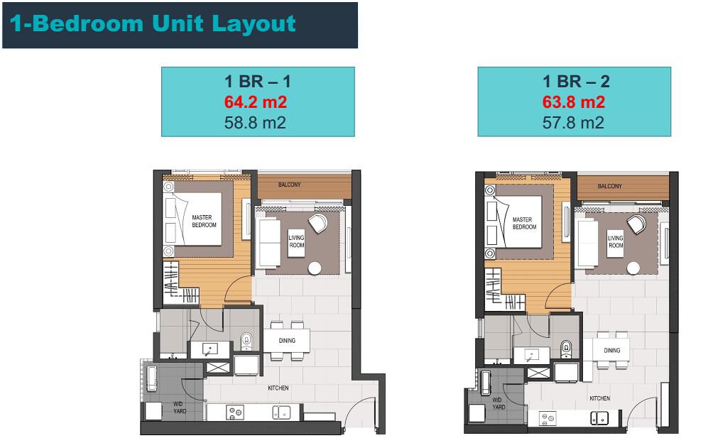 Bán căn hộ Empire City 1 phòng ngủ tòa Linden