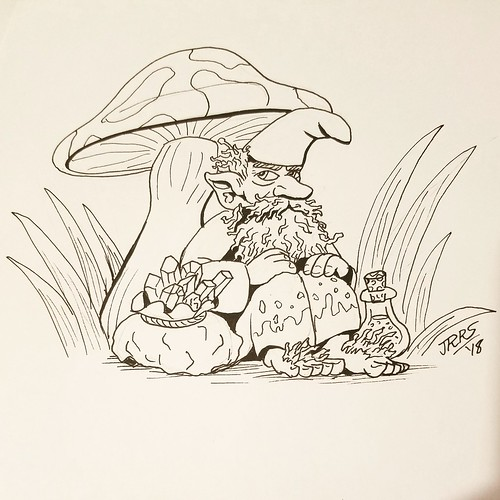 #inktober - Gnome | by Saber-Scorpion