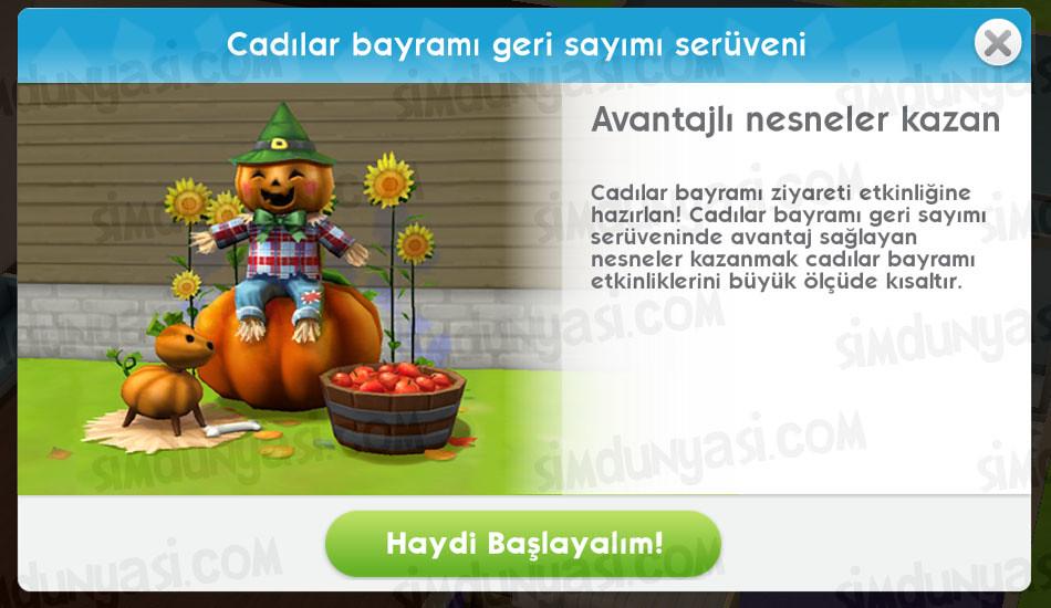 The Sims Mobile Cadılar Bayramı Geri Sayımı