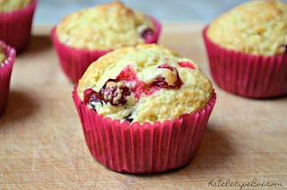 Cranberry Orange Muffins 3 | by katesrecipebox