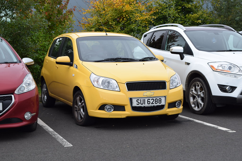 2010 Chevrolet Aveo Lt Never Saw A Yellow One Of These Bef Flickr
