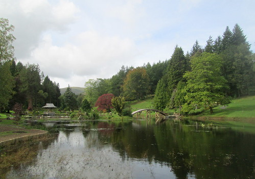 Pond and Bridge | by piningforthewest