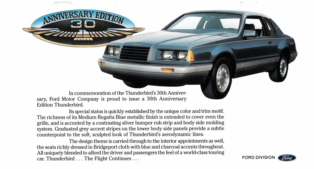Buy used ford thunderbird 30th anniversary edition in youngstown.