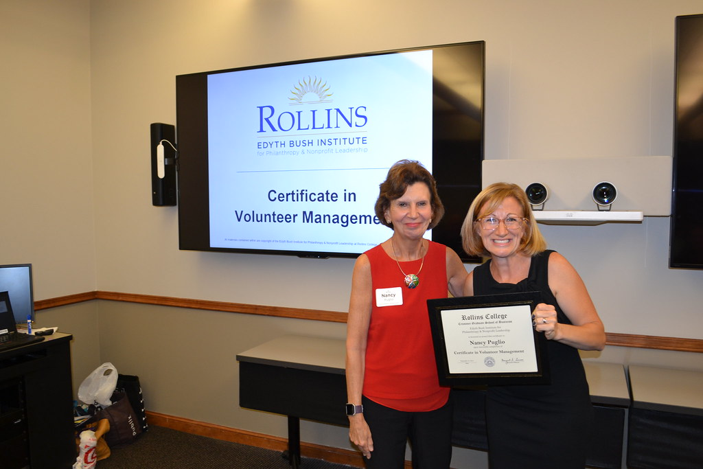 Certificate in Volunteer Management | Fall 2018 Certificate