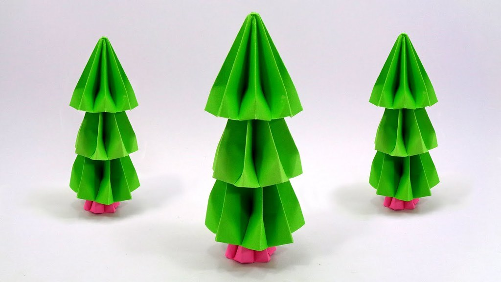 how to make a home made paper christmas tree for decorations by liafloral - How To Make Paper Christmas Trees