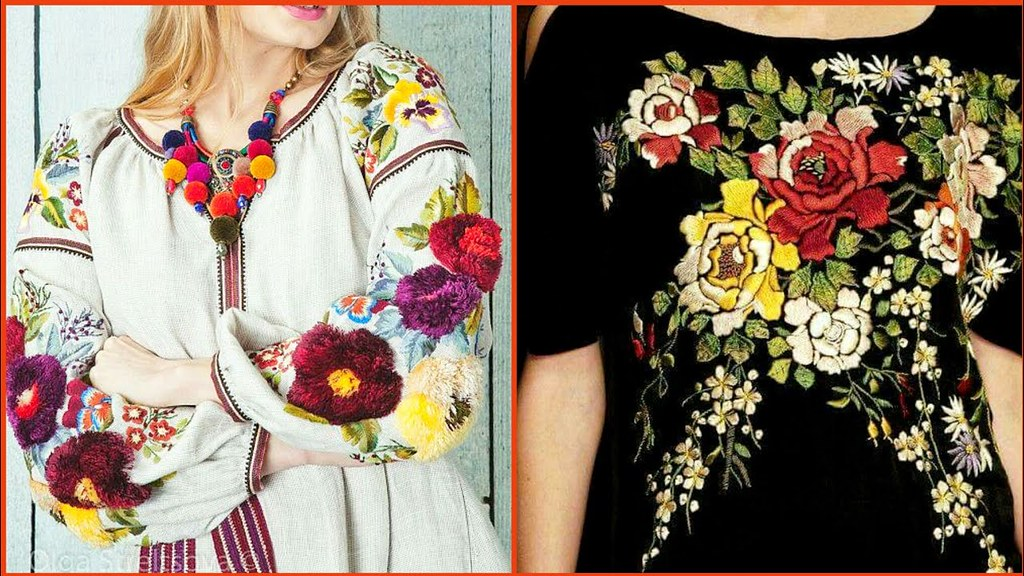 Gorgeous Stylish Embroidered Top Shirts Designs For Flickr