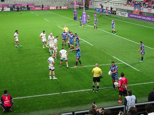 Stade vs Worcester - 13 octobre 2018 | by Amistade-paris.fr