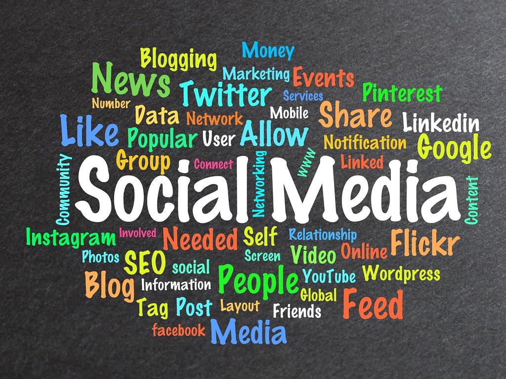 ... BitsFromBytes Social Media Word Cloud - by BitsFromBytes