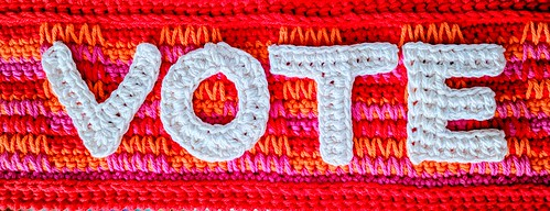 VOTE with Crochet! | by vashtirama