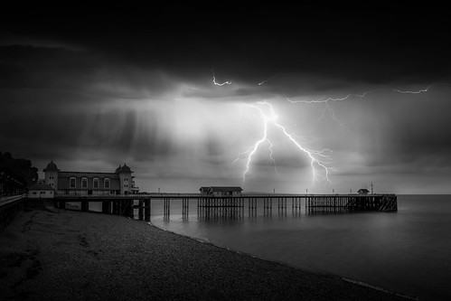 Night At The Pier by Simon Hadleigh-Sparks | by Simon Hadleigh-Sparks