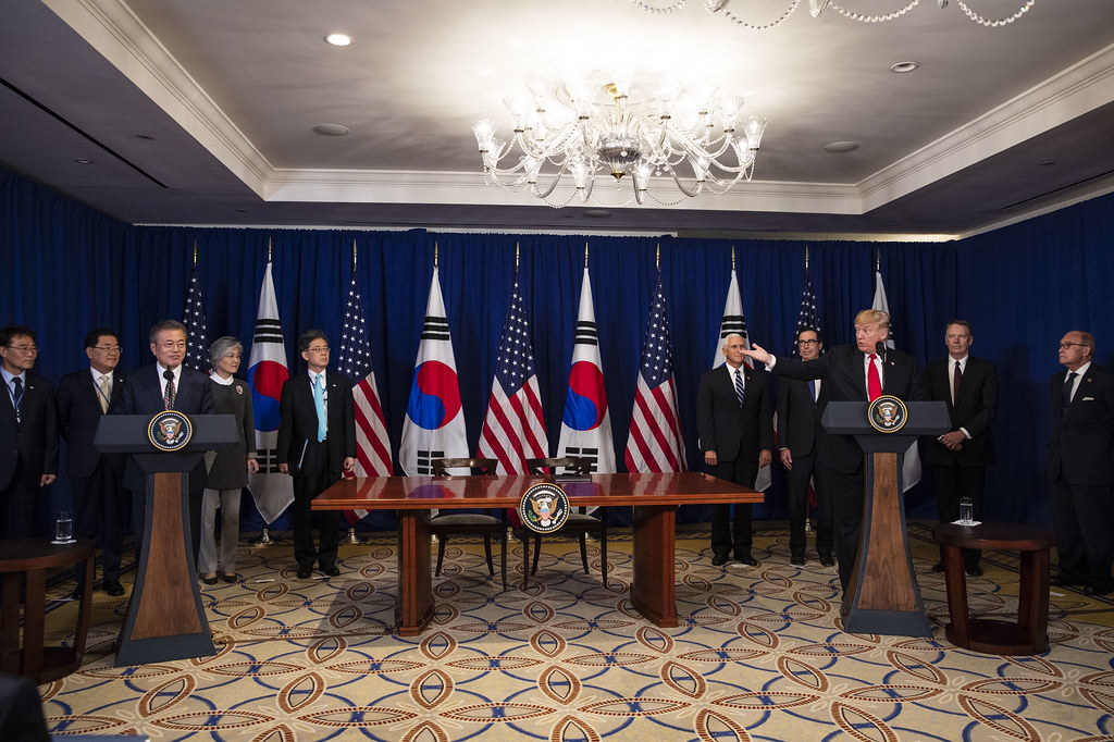 The United States Korea Free Trade Agreement Signing Cerem Flickr