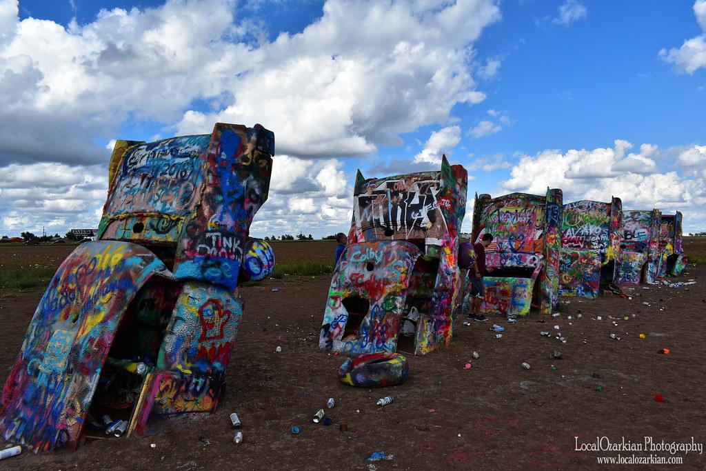 The Cadillac Ranch Route 66 Amarillo Texas Localozarkian