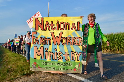 NFWM at Familias Unidas por la Justicia March | by National Farm Worker Ministry