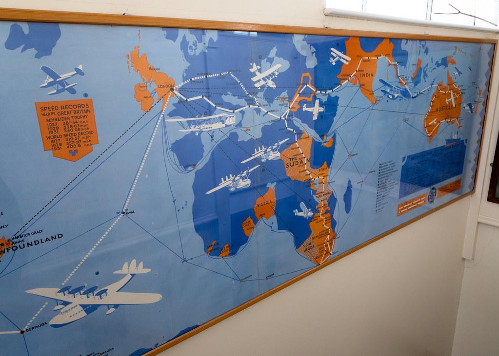 Promotional Map Croydon Airport London Terminal Aerodr Flickr