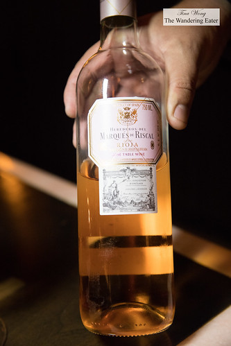 Herederos del Marques de Riscal Rose Table Wine | by thewanderingeater