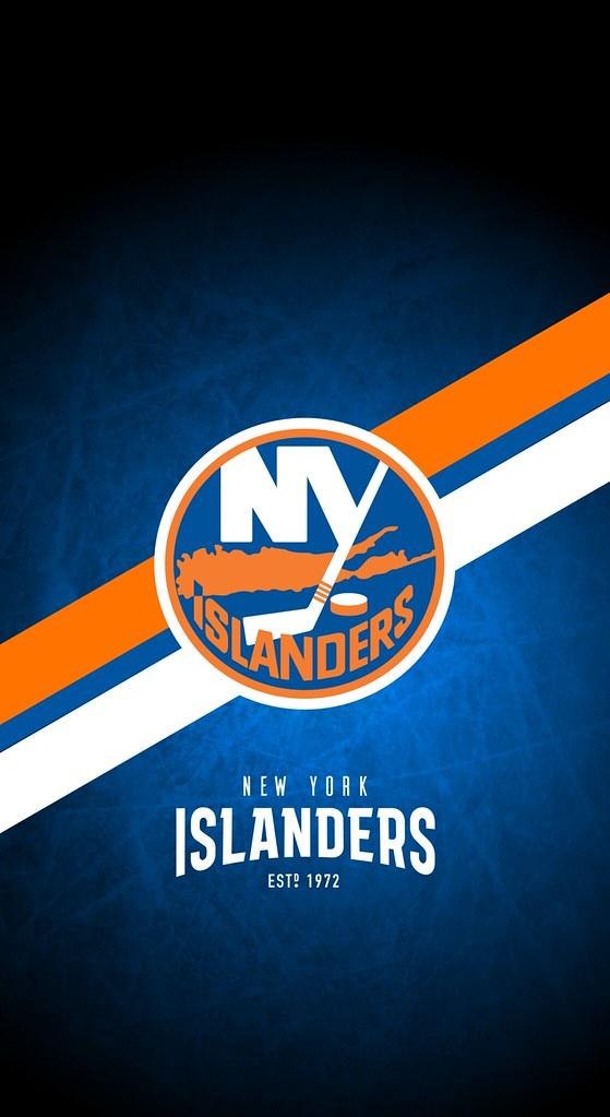 New York Islanders Nhl Iphone Xxsxr Lock Screen Wallpa