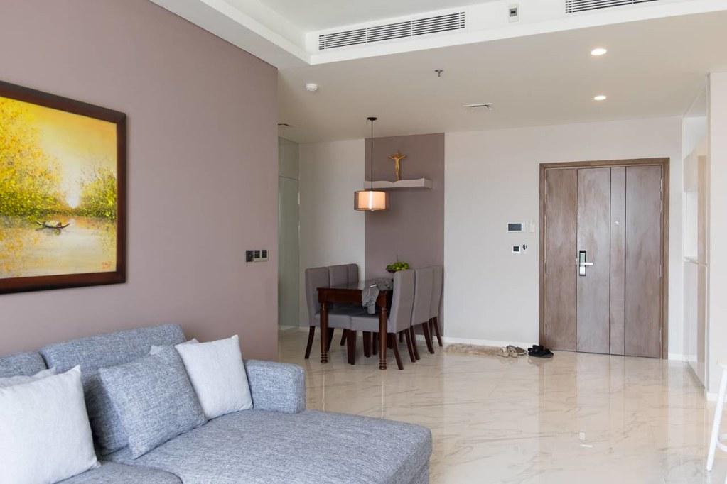 cho thuê căn hộ Sarica Thủ Thiêm, Quận 2