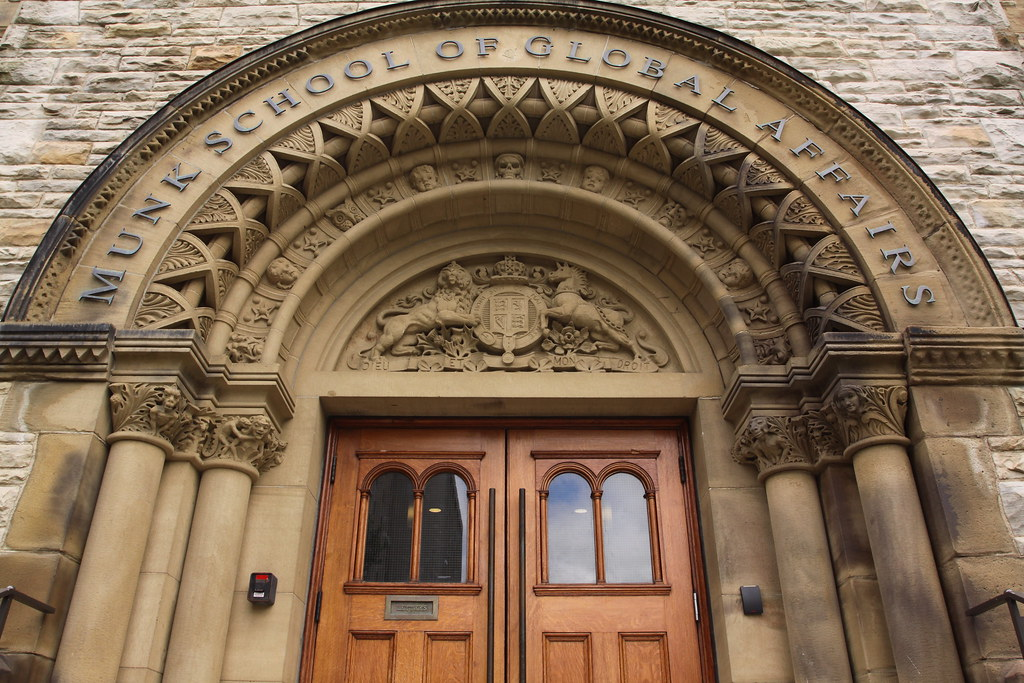 A Decorative Arch And Doorway On The Univ Of Toronto Cam Flickr