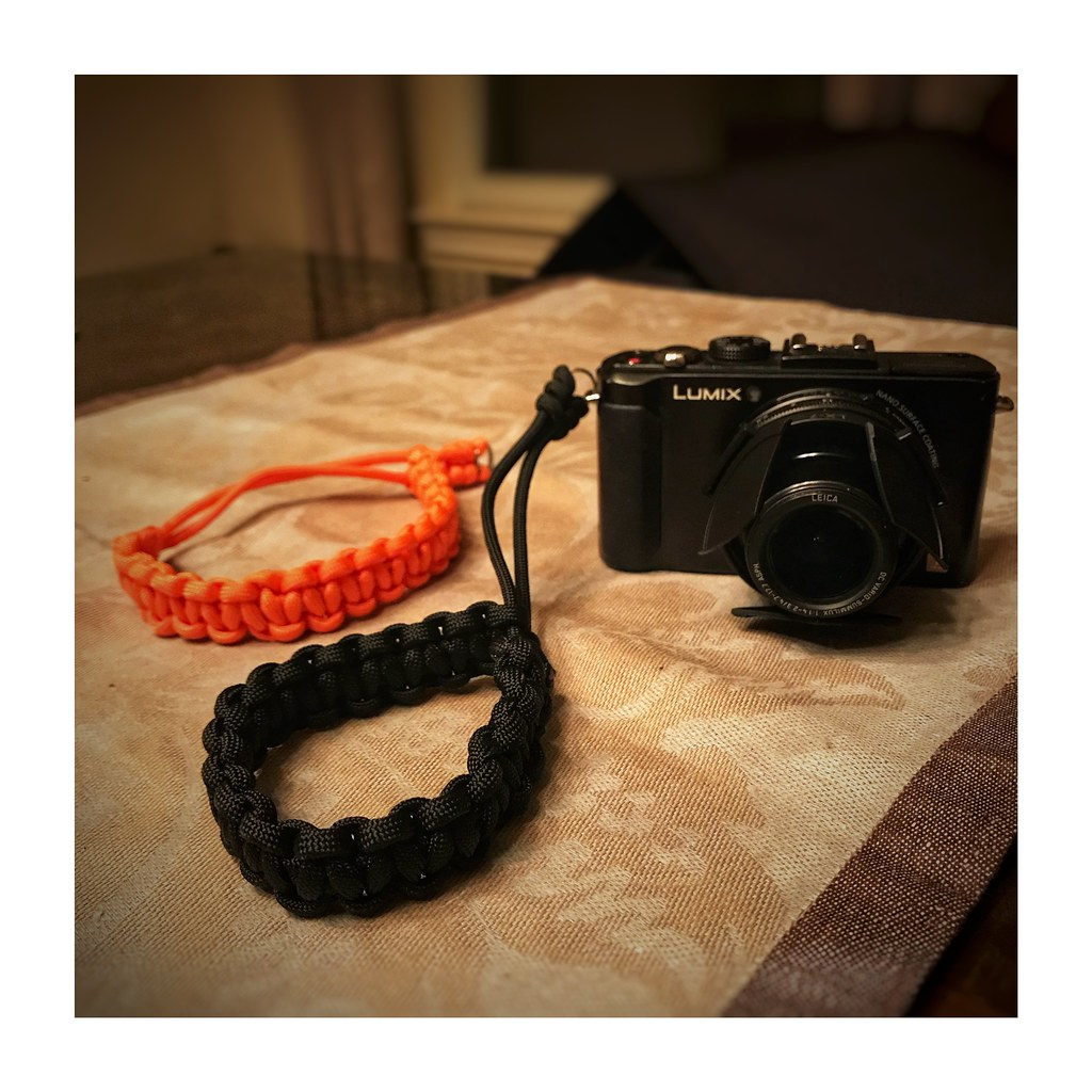 Old Lumix Lx7 And Diy Paracord Strap Instructions From Yo Flickr