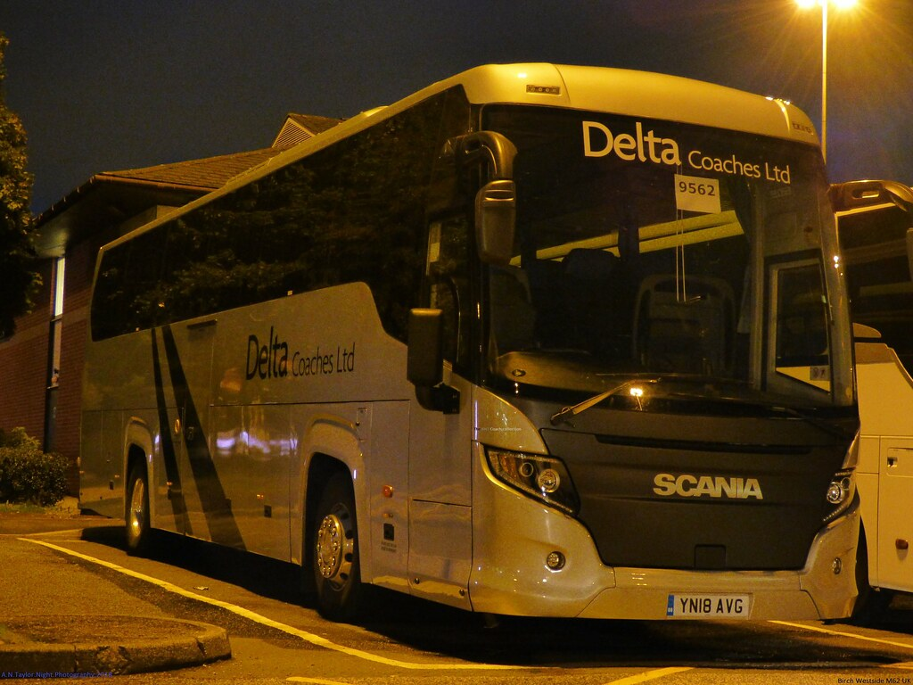 Scania K360ib4 Higher Touring Coach Yn18 Avg 2018 Delta Co Flickr
