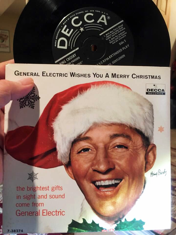bing crosby general electric wishes you a merry christmas by tommer g - Bing Crosby I Wish You A Merry Christmas