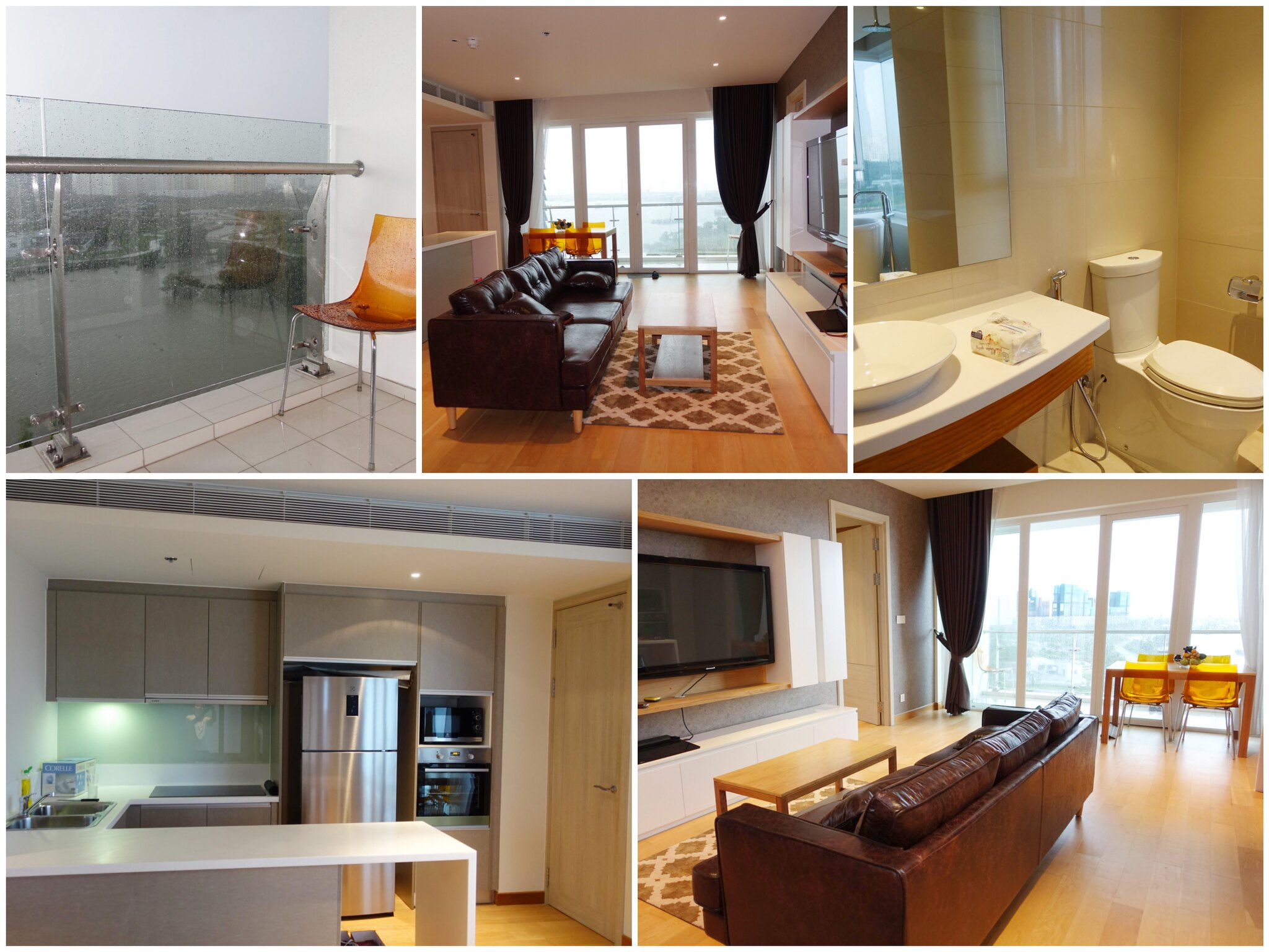 Hình ảnh thực tế nội thất căn hộ