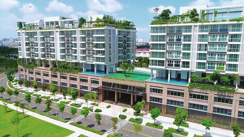 Khu căn hộ cao cấp Sarica - khu căn hộ được xem là cao cấp nhất tại khu đô thị Sala, Thủ Thiêm, Quận 2