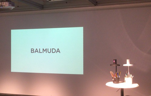 BALMUDA THE LIGHT PRESENTATION 2018/10/23