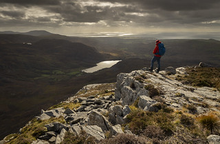 Cwm Bychan from Clip - Rhinogydd - Snowdonia - Wales | by Nick Livesey Mountain Images