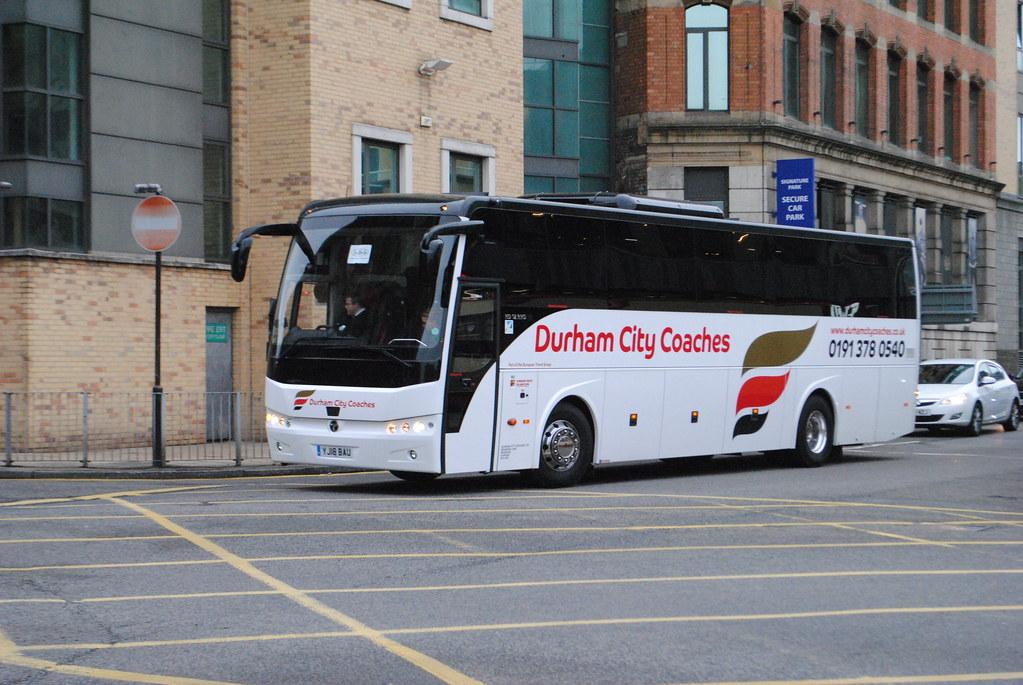 Durham City Coaches Yj18bau Temsa Safari Hd 12 Rhd Whitec Flickr