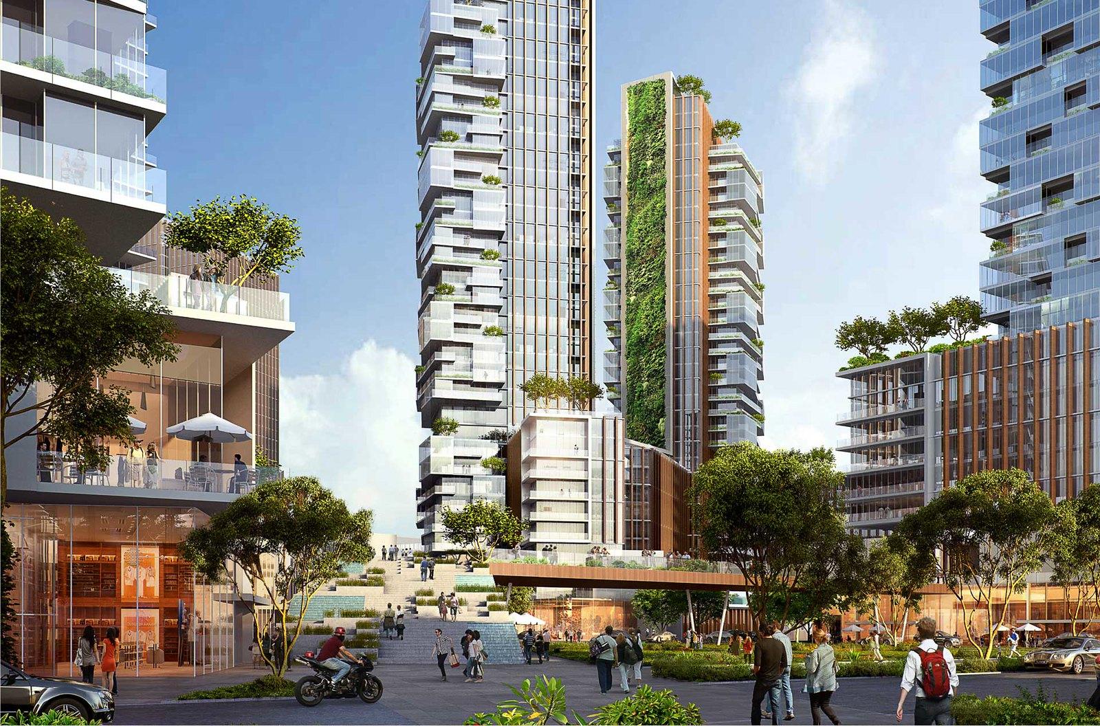 Nội khu dự án Empire city