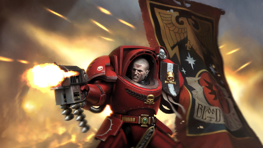 Space Marine Heroes Paint Set Box Cover Wallpaper 2560x14