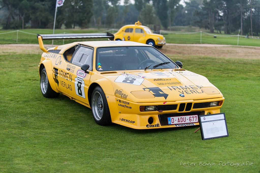 Bmw M1 Procar 1979 E26 The M1 Was Intended To Be Powered Flickr