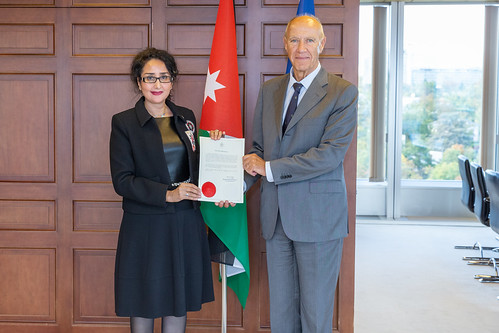 Jordan Deposits Key Berne Convention Document | by WIPO | OMPI