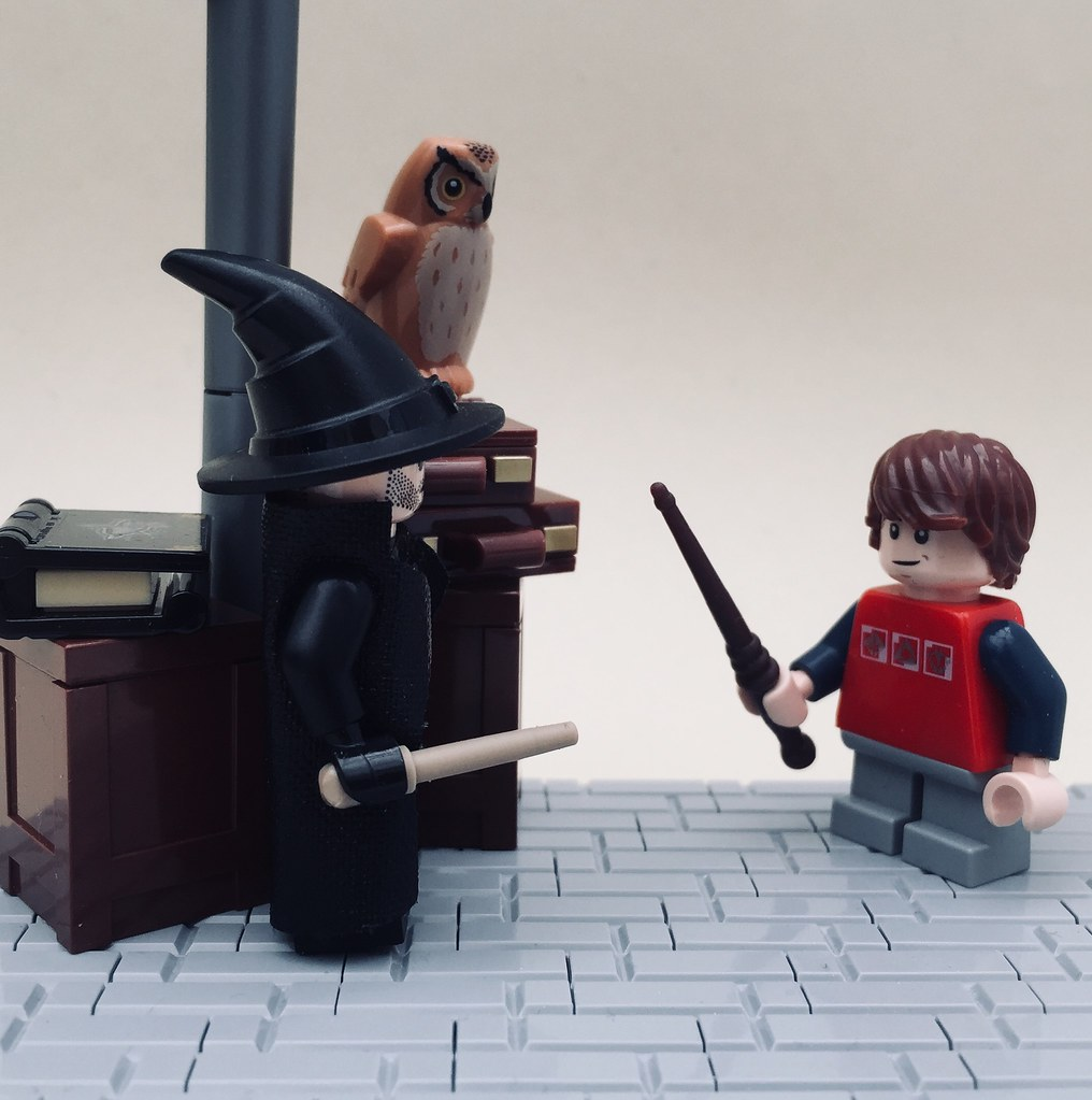 hogwarts: a history (3) | wand shopping | first of all, i'm … | flickr