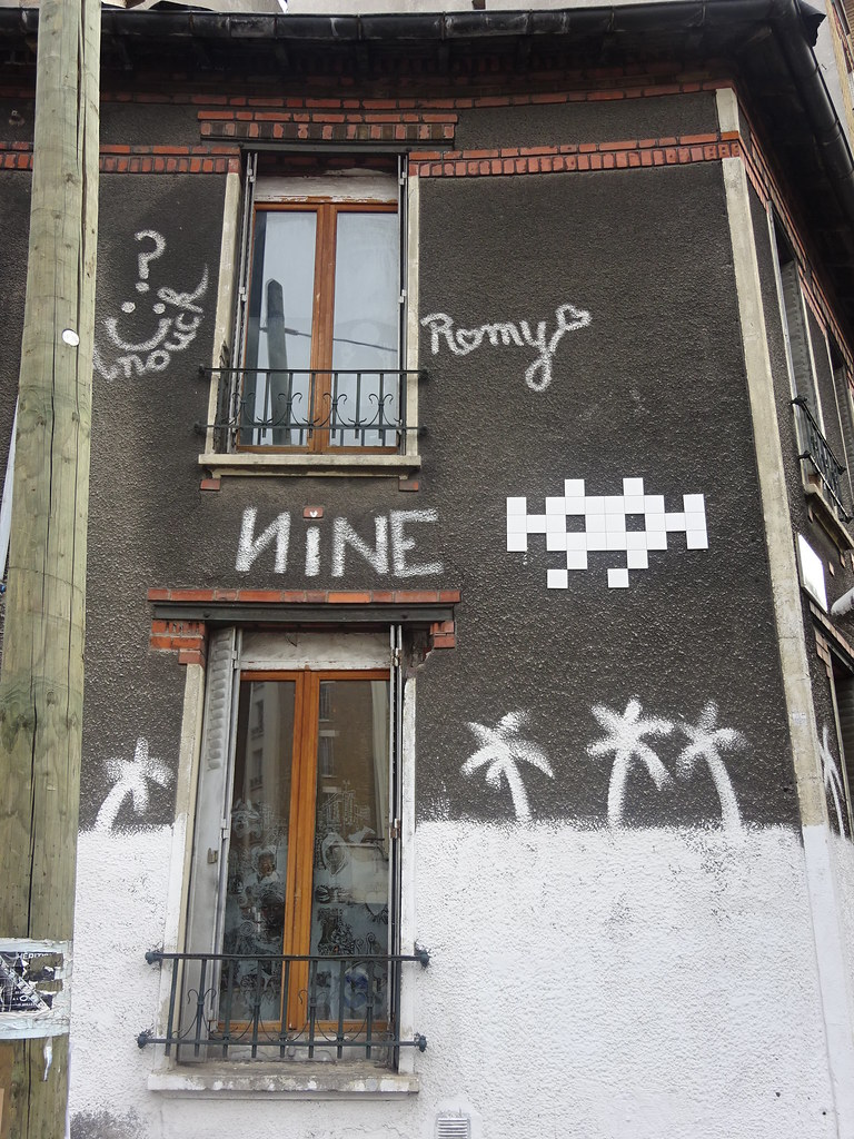 ... PA 1368 : Romy / Space Invader (septembre 2018) | by Archi & Philou