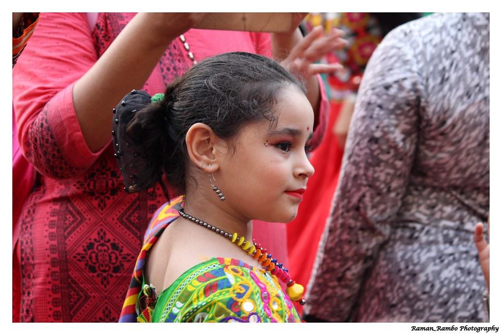 Navratri Garba Competition For Kids At Mulund Navratri Gar Flickr