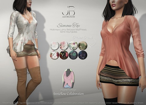 NEW! Simone Top - AnnieRose Collaboration at Uber! | by Just BECAUSE_SL