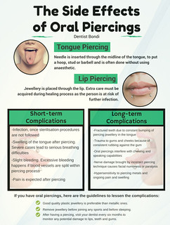 How Bad the Tongue Piercings Can Be For Your Oral Health | by palmersingletary