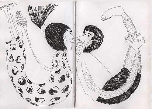 Dibujos De Hombre Y Mujer Relación Y Amor Dibujo Hombres Flickr