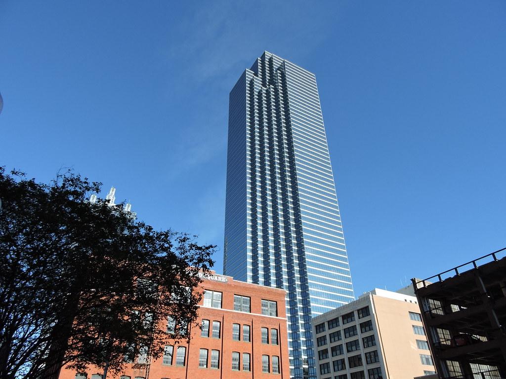 The 72 Story Bank Of America Plaza 901 Main Street Dallas TX