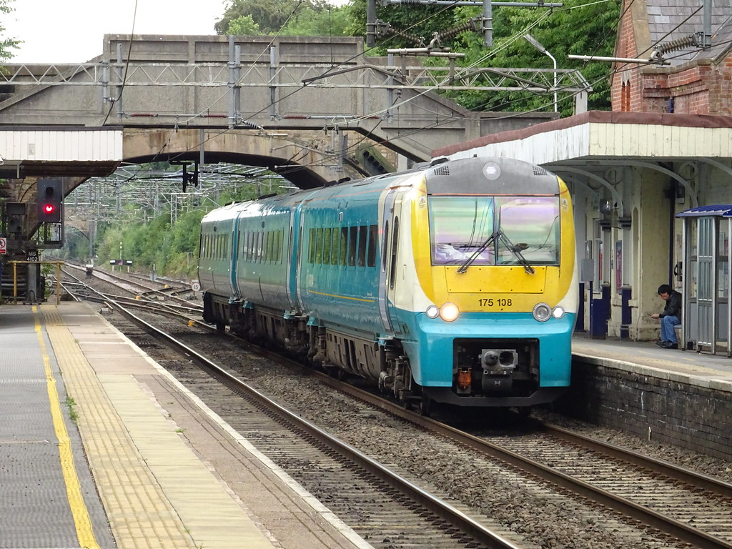 Atw 175108 Alderley Edge Arriva Trains Wales Class 175 Flickr
