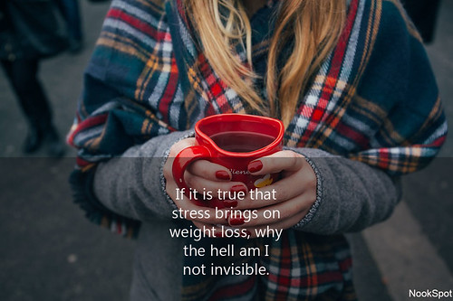 If Stress brings weight loss, why I'm not invisible. | by NookSpot